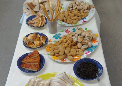 Our Christmas Party Food