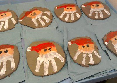 Santa Handprints